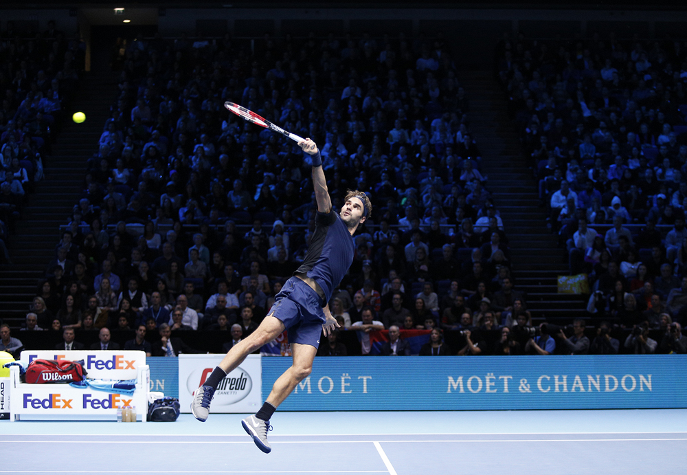 2015 ATP Tour Finals Day Four Nov 22nd